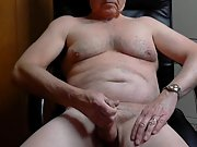 Masturbation and full body shot with cum