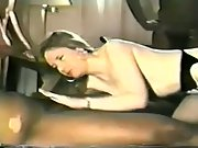 My brunette wife can not get enough big black cock inside of her