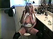 Hot Blonde MILF orders you to serve her