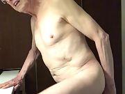Exposed Faggot Pervert Slut Fucks Butthole With Dildo
