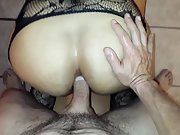 Latina ass fucked from behind