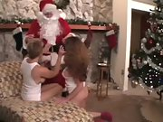 2 HOT MILFS GET A GIFT FROM SANTA