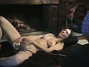 Tony Cums With Her Sex Toy