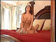 Rich older guy pervert fucking a hot busty mother who cleans house
