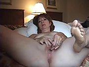 Wife Showing how she masturbates