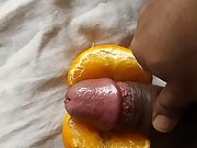 My orange fuck vide,. Please comment and say what else should I fuck