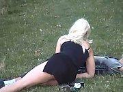 Blonde Public