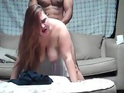 BBW amateur drilled by new muscular black bull lover