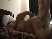 Chubby amateur fucking and moaning loudly