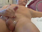 Sissy slut whore jacking an shooting a load
